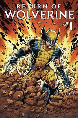 Return Of Wolverine #1 Cover A Pre-Sale 2018