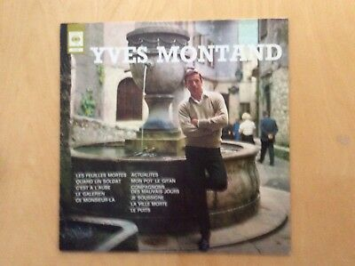 Yves Montand :  LP CBS