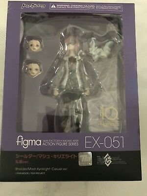 Anime Expo 2018 Fate Grand Order Mash Kyrielight Casual Ver Figma IN HAND