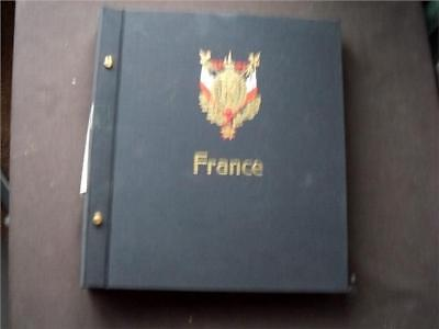 13560aj FRANCE (c 1969 TO 1987) FINE USED STAMPS COLLECTION IN A DAVO ALBUM ??