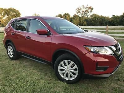 Rogue S AWD 17 Nissan Rogue AWD NO RESERVE PRICE Clean Rebuilt Title All Original Buy & Save