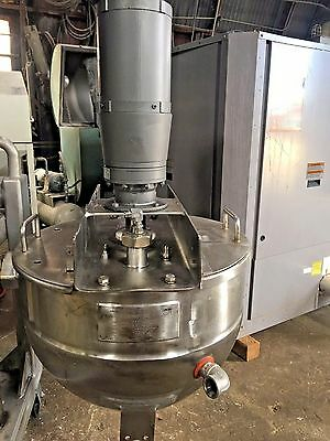 Lee Industries Scrape Surface 10 Gallon Jacketed Stainless Kettle