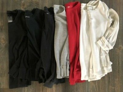 Women's long sleeve shirts Lot of 6 Thermal tops