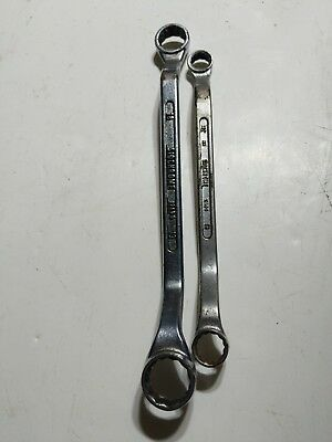 Vintage SIDCHROME RING SPANNERS 12 13 18 19mm Made in Australia