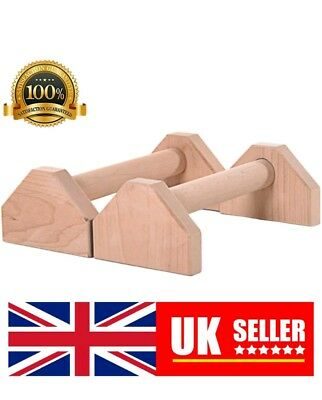 Custom Wooden Mini Parallettes. Handstand push-ups Gymnastics Bars Planche Gym