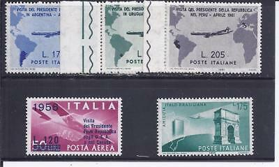 Italien - selt./postfr. LP-Lot aus 1955/61 - Michel 962/1102!
