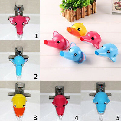 Lovely 1pc Faucet Extender For Helps Children Toddler Kids Hand Washing Bathroom