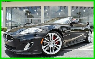 Jaguar XK XKR Convertible ~~ Clean CARFAX ~~ We Export ! ~~ BEST DEAL 2013 XKR Used 5L V8 32V Automatic RWD Convertible Premium