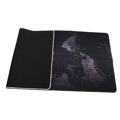 Large 2 Sizes Anti-Slip World Map Speed Game Mouse Pad Laptop PC Gaming Mat DD