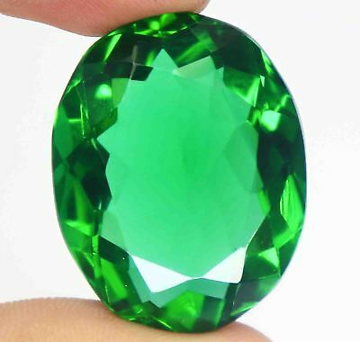 67.40 Ct EGL Certified Amazing Transparent Oval Cut Green Moldavite Gems BZ2896