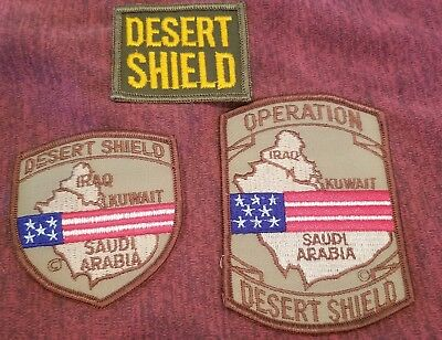 Operation Desert Shield Patches