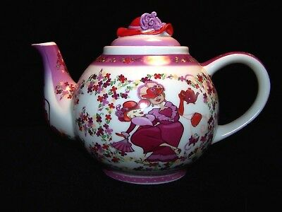 Official Red Hat Society teapot designed by Paul Cardew.