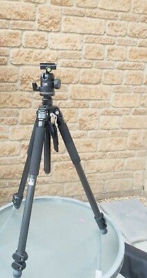 Giottos MTL 8261B Carbon Fibre Tripod Fitted with Manfrotto  488RC 2 Head