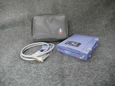ZIP 100 iomega External Mac SCSI Drive Z100S2 W. Cable and Soft Case!