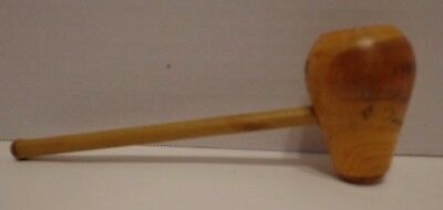 Vtg Wooden Pipe Texas State Park 5 5/8""