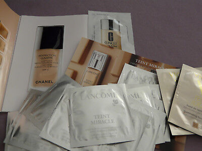 LOT Fond de teint miracle  ESTEE LAUDER  ,CHANEL Clinique, Vichy..