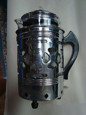 Vintage COFFEE MAID Forman Pyrex Percolator, Electric Coffee Maker