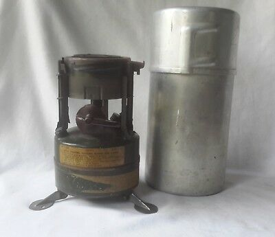 Vintage 1952 M-1950 US MILITARY Rogers Akron Ohio Portable Cooking Stove Hiking