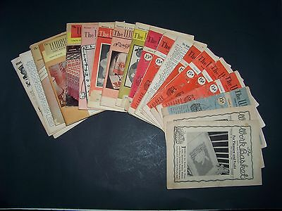 "VTG LOT ""THE WORKBASKET"" HOME & NEEDLE CRAFTS BOOKS - AUG.1942 thru APRIL  1965"