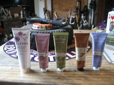 crabtree & evelyn lavender rosewater citron hand cream elemis orchid body cream