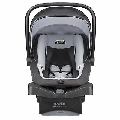Baby Infant Car Seat 5-20 lbs Evenflo Platinum LiteMax 35 Rollover Protection