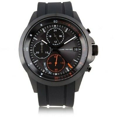 Official Land Rover Merchandise Men's Chronograph Watch Black