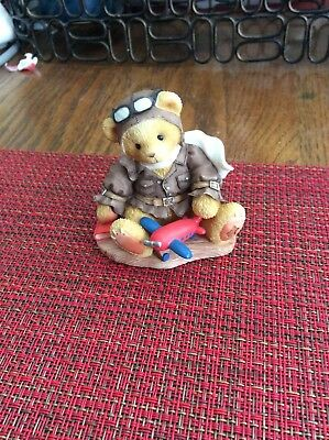 Cherished Teddies 1998 National Event Come Fly With Me Figurine