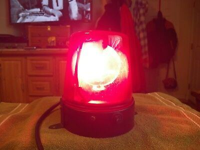 Chauvet ~YA-145 ~ Police Beacon ~ Party Light ~ Rotating Spinning ~ Red
