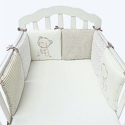 bed linen baby SUNVENO Comfortable Bumper 6 pcs/set tour de bed
