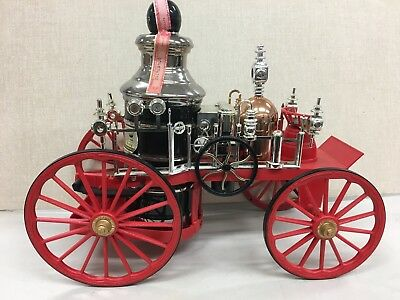 Vintage Jim Beam Steam Pumper Fire Truck Decanter
