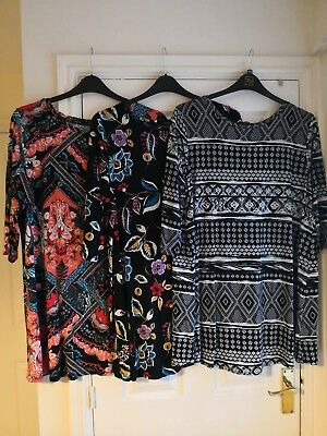 Ladies Patterned Tunic Bundle Size 18