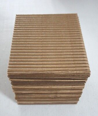 50 Pack (Single Coin) Corrugated Safety Mailers for Coins - Free Shipping
