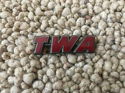 Vintage TWA Trans World Airlines Pin