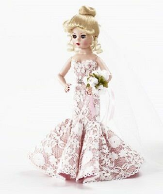 """SAVE $30! HERE COMES THE BRIDE Madame Alexander 10"""" CISSETTE w/Stand 69770 NEW!"""