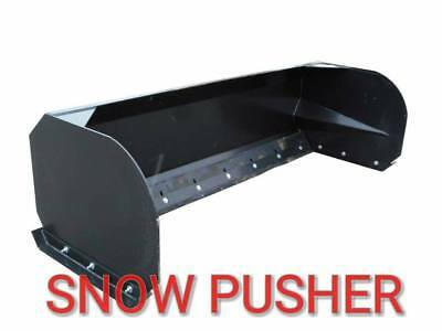 "84"" EXTREME Snow pusher--skid steer/tractor"