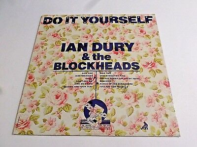 Ian dury the blockheads do it yourself with 45 vg 400 picclick ian dury the blockheads do it yourself lp 1979 stiff vinyl record solutioingenieria Images