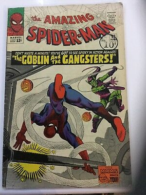 "THE AMAZING SPIDER-MAN ORIGINAL US MARVEL COMIC ""Goblin and the Gangsters"" #23"