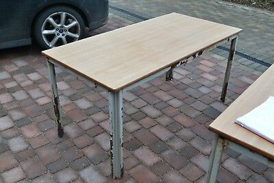 Fold Flat Table 75x150cm -ideal for parties , bootsales , crafts etc  CO9 Essex