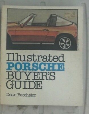 Porsche book illustrated buyers guides