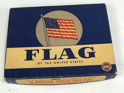 Original Boxed US 48 Star Flag