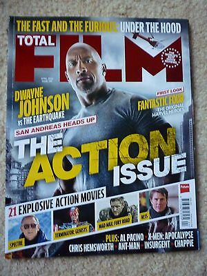 Total Film # 230 April 2015  The Action Issue / San Andreas / Ant-Man