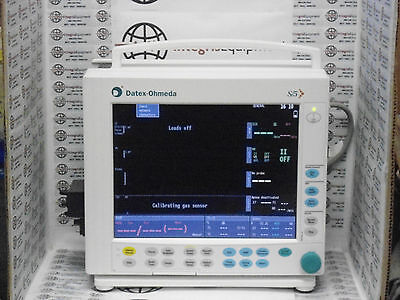 Datex Ohmeda S/5 Compact Anesthesia Monitor - M Series Modules - BioMed Warranty