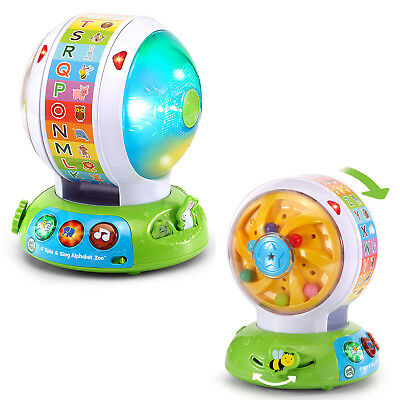 Vtech Spin And Sing Alphabet Zoo Ball Baby Toddler Infant