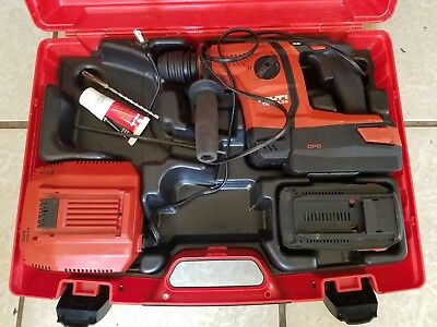 Hilti TE6-A36 AVR 36-Volt Lithium-Ion 1/2 in. SDS Plus Cordless Rotary Hammer
