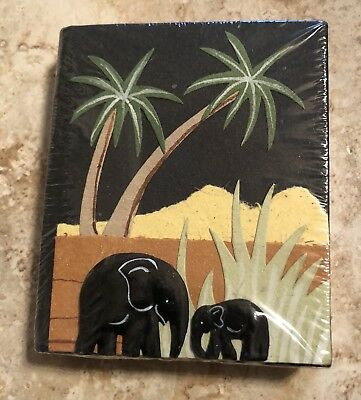 African Notebook made out of Elephant Dung
