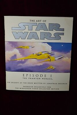 The Art of Star Wars The Phantom Menace Episode 1 Softcover Book Science Fiction