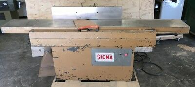 """SICMA 13"""" DT330 Jointer woodworking SCMI Italy"""