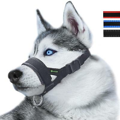 Nylon Dog Muzzle for Large Dogs Prevent from Biting,Barking and