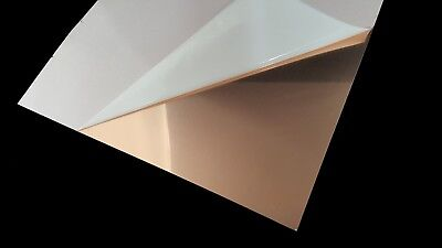 "Copper Sheet Metal 16 Ounce (0.0216""/24 Gauge) 42"" x 22"""