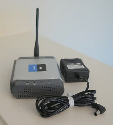 Linksys - Wireless-G-PrintServer (WPSM54G V1.1)